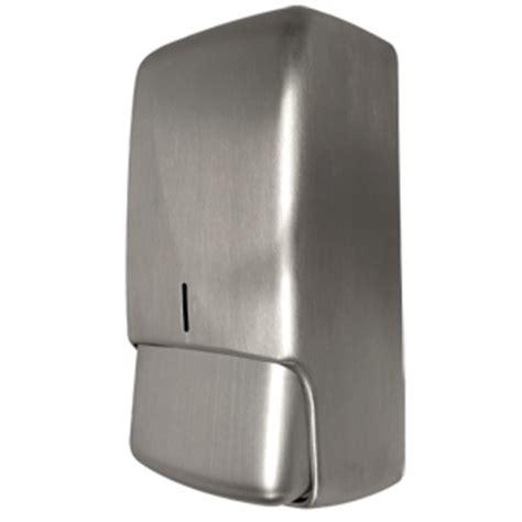 stainless steel bathroom soap dispenser futura brushed soap dispenser byretech ltd
