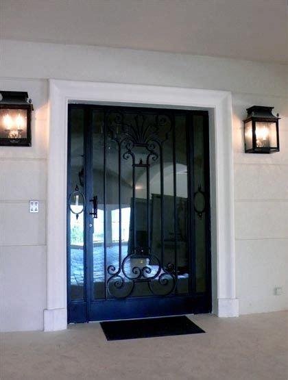 Decoration Des Portes En Fer by Porte En Fer Forg 233 Design D 233 Coration Pour La