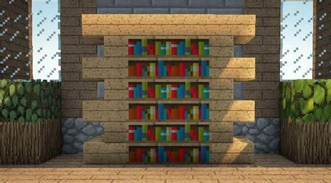 News Bookshelves Minecraft On Bookshelf Minecraft Wiki Minecraft Furniture Storage Amazing Minecraft Builds