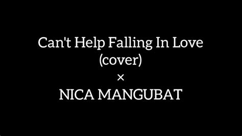 can t help falling in love cover youtube