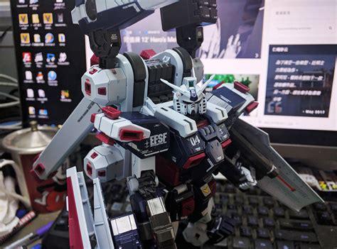 Gundam Hg Tb Fa 78 Armor Tunderbold 07885 Wb project 78 mg fa 78 全武裝高達 thunderbolt ver ka 走在敗家的坦途上