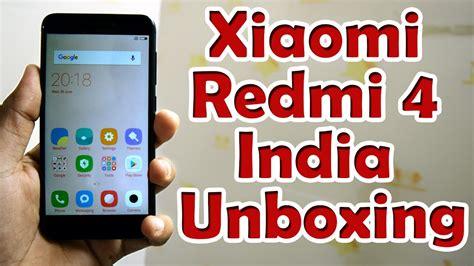 new xiaomi mobile phone redmi 4 unboxing