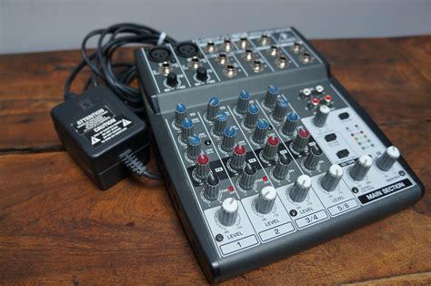Mixer Xenyx 802 behringer xenyx 802 image 445850 audiofanzine