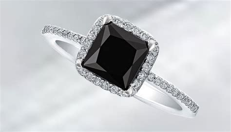 black engagement rings for take your