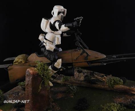 Bandai 112 Wars Scout Trooper Speeder Bike diligentnewtype s bandai x wars diorama 1 12 scout