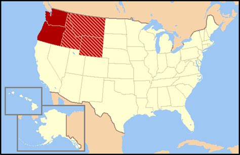 map of the northwest united states file us map northwest png wikimedia commons