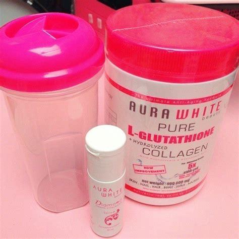 Serum Jelly Gold Ori Klinik free shaker nano serum aura 100 original aura white l glutathione hydrolyzed
