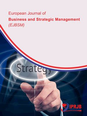 European Mba Sports Management by European Journal Of Business And Strategic Management Iprjb