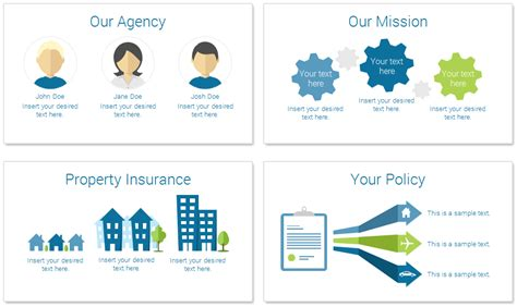 Insurance Powerpoint Template Presentationdeck Com Insurance Ppt Templates Free