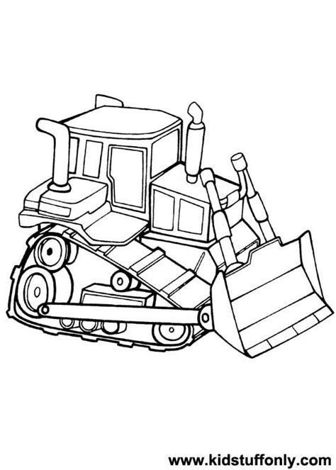 Bulldozer Coloring Pages Bulldozer Coloring Pages