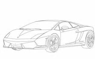 Lamborghini Gallardo Coloring Pages Sketch Page sketch template
