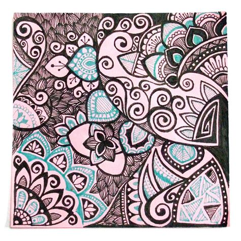 easy doodle drawings drawing doodle ink with lots of black by yael360 on
