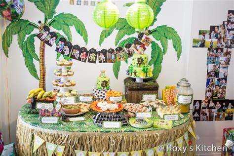 animal themed events safari jungle themed first birthday party part i