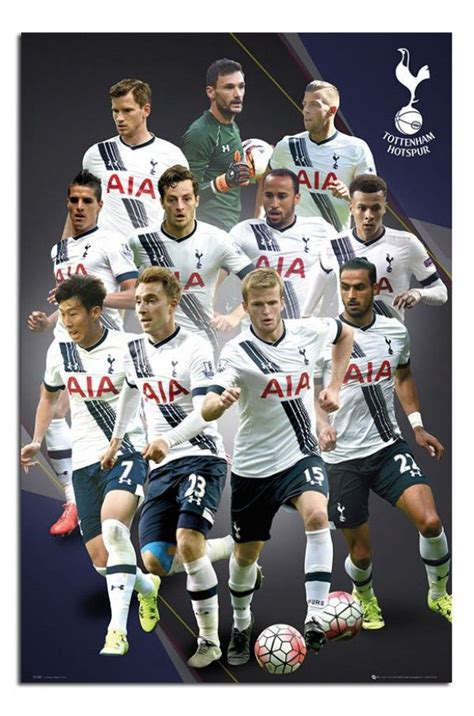 tottenham hotspur 2015 16 team photo poster iposters football soccer posters tottenham hotspur 2015 16 players poster iposters f 250 tbol poster and