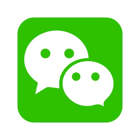 Home Designer Free by Wechat Icon Free Of Social Media Amp Logos I Flat Colorful