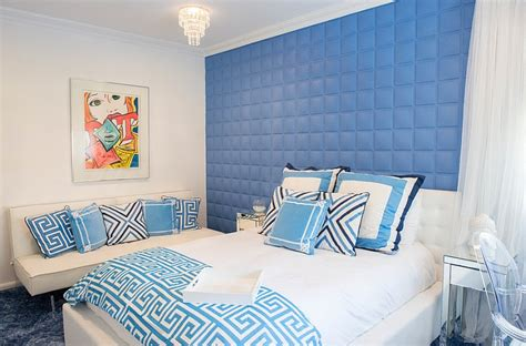 blue and white bedroom ideas blue and white interiors living rooms kitchens bedrooms