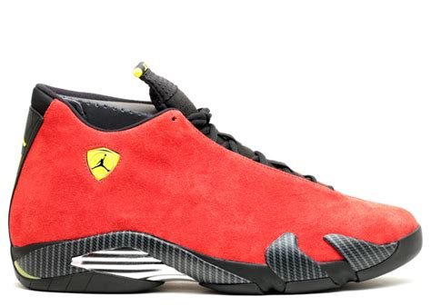 retro ferrari shoes air jordan 14 retro quot ferrari quot air jordan 654459 670