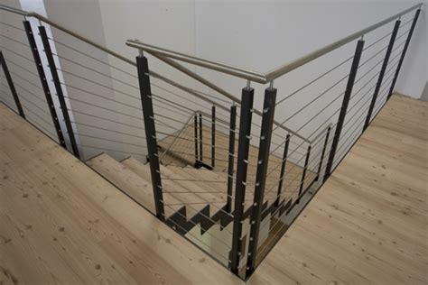 corrimano in acciaio ringhiera in ferro con cavi in acciaio inox idealferro