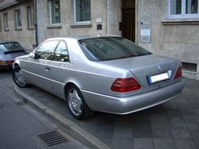 Mercedes C 600 File Mercedes Cl600 C140 1991 1998 Backleft 2008 04