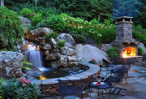 pond and waterfall linville nc photo gallery