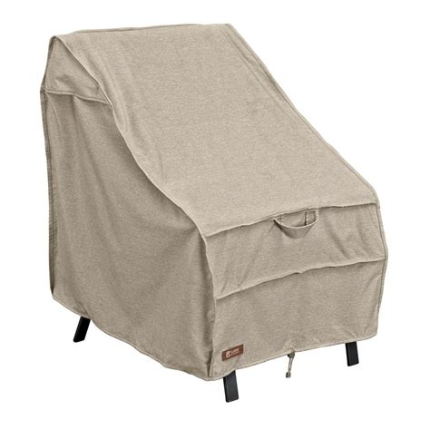 Patio Chair Cover Classic Accessories Montlake High Back Patio Chair Cover 55 651 016701 Rt The Home Depot