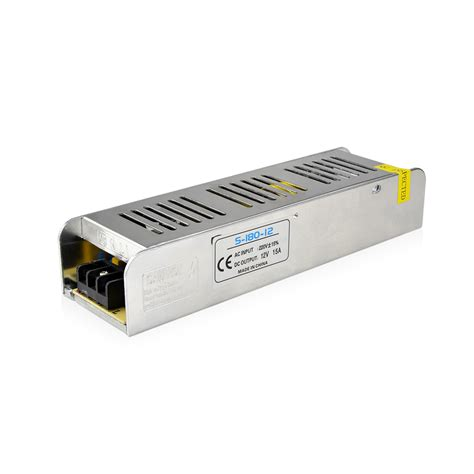 12 volt transformer for led lights ac 220v to dc 12v 15a 180w led driver switch power supply