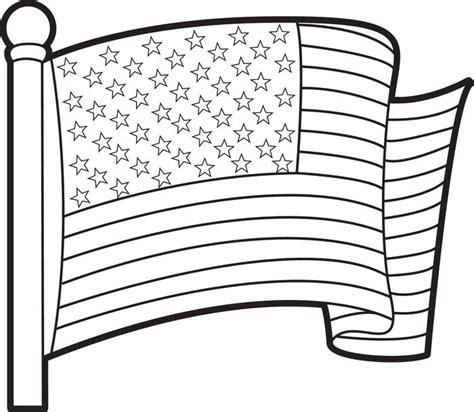 Printable American Coloring Pages free american flag printable coloring pages
