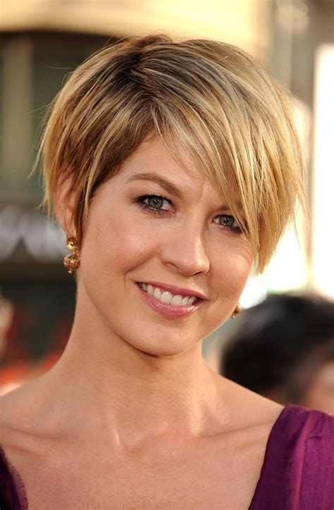 jenna elfmans haircut from dharma and greg article short hairstyles jada and celebrity beauty