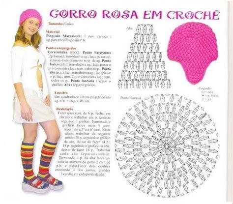 patrones de gorros tejidos patr 243 n gorro rosa en crochet punto pop corn con orejeras