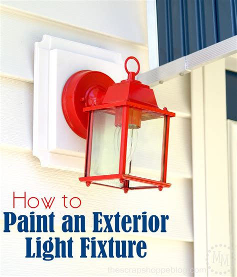 How To Paint Brass Ls by Painting Outdoor Light Fixtures Outdoor Light Fixture Makeover Using Metallic Paint 1000