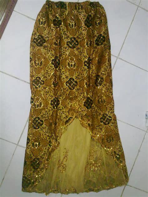 Kain Batik Rangrang Biru Set Bo136 elynyuni of kebaya java batik satin sarong