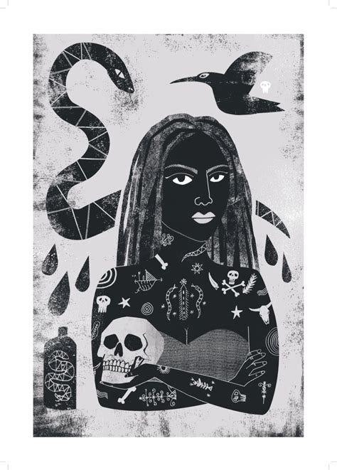 bayou queen tattoo new orleans new orleans i voodoo lady a3 art print