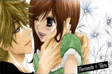 wallpaper kartun jepang gambar kartun jepang romantis ikonyo dot com