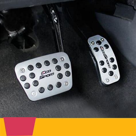 Ford Ecosport Pedal Gas Auto Car Pedal Silver car pedals promotion shop for promotional car pedals on aliexpress