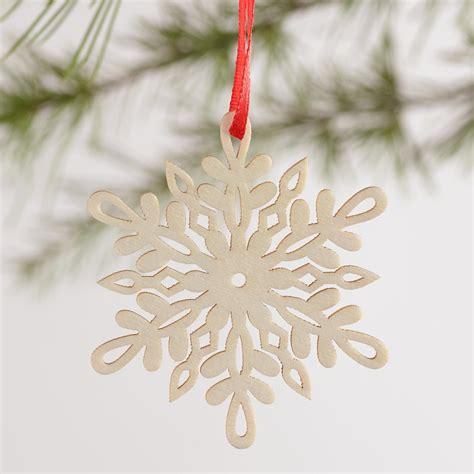 laser cut ornaments laser cut wood snowflake boxed ornaments 12 pack world
