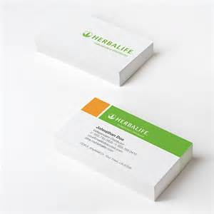 herbalife business card herbalife official orange business cards to