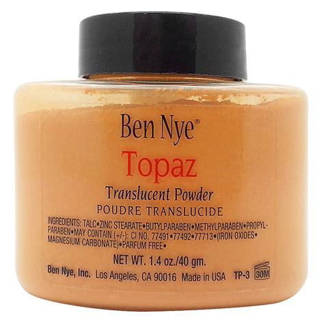 ben nye powder colors ben nye translucent makeup powder professional make