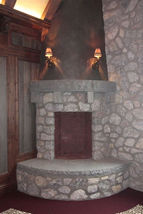Rustic Corner Fireplace by 17 Best Images About Fireplaces On