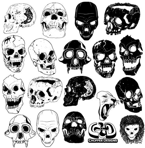 vector design graphics download free free skull vector graphics 123freevectors