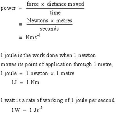 power efficiency mechanics   level physics tutor