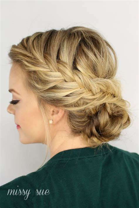 easy updo hairstyles for thin hair hairstyles for thin hair 7 hairstyles that add volume