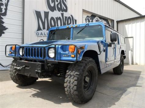 hummer h1 gas sell used 1996 hummer h1 turbo diesel wagon patriotic