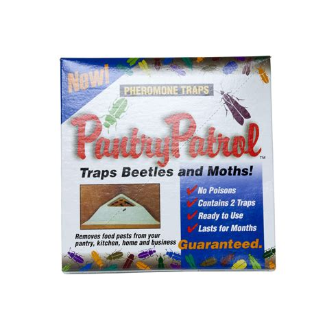 Pantry Moth Pheromone Traps by Pantry Patrol Pheromone Traps For Beetles And Moths
