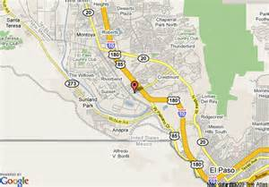Comfort Inn Austin Map Of Studio Plus El Paso West El Paso