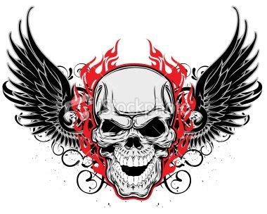 ist2 9643815 insane skull and wings jpg 380 215 304 skulls