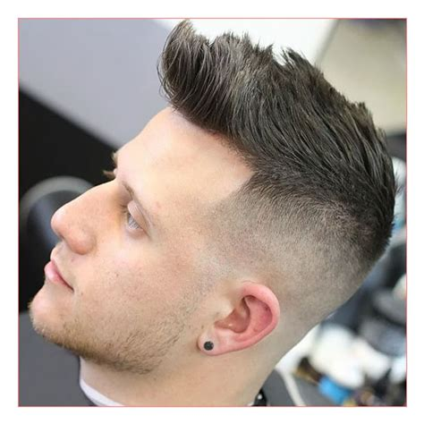 mens clipper cut hairstyles mens clipper haircut videos with high bald fade with quiff