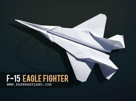 F 15 Origami - f 15 eagle papierflieger new bauanleitung doovi