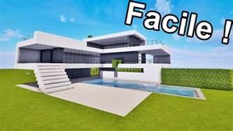 maison ultra moderne facile 192 faire sur minecraft