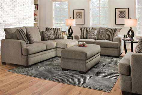 chenille sectional sofa with chaise lynwood chenille sectional with moveable chaise at gardner