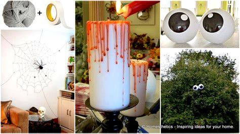 home made fall decorations 42 super smart last minute diy halloween decorations to